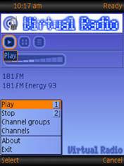 screenshot Virtual Radio